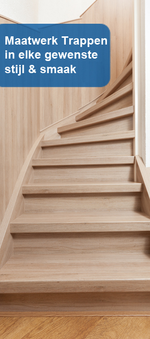 Bamboe trappen bij Trappen renovatie